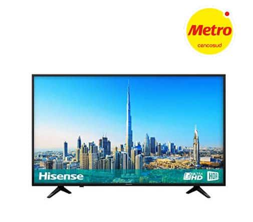 Televisor Hisense Smart TV metro peru