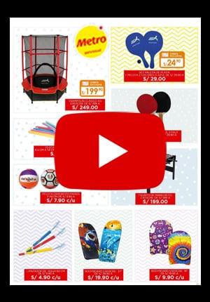 Catalogo juguetes Metro
