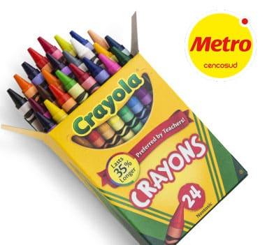 crayolas metro