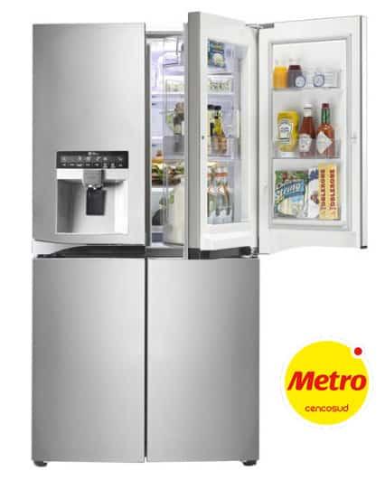 descuentos en refrigeradoras metro