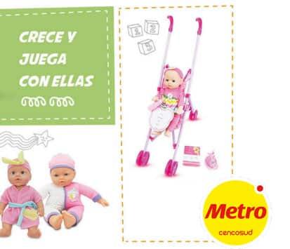 metro tambien tiene juguetes para niñas