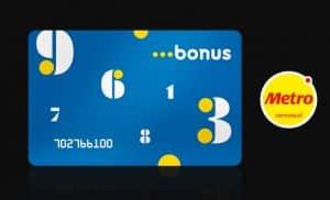 nueva tarjeta bouns metro