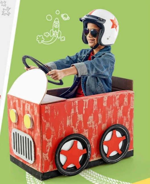oferta de juguetes para niño en metro