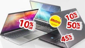 ofertas de laptops en metro