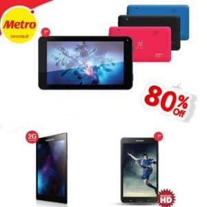 ofertas de tablets en metro