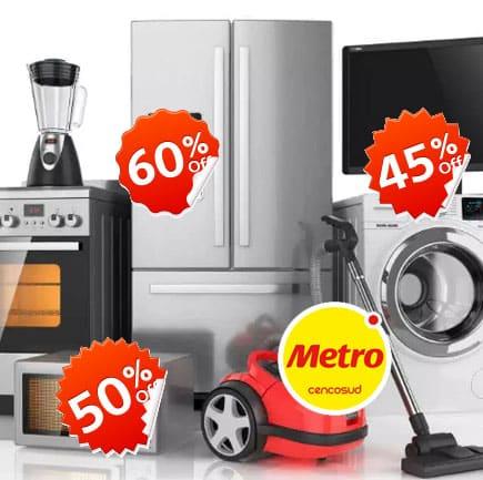 ofertas y descuentos en productos metro