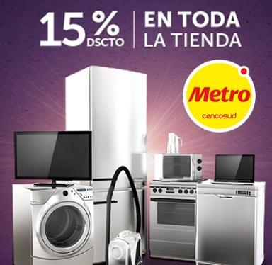 promociones Tarjeta ÚNICA en tiendas metro