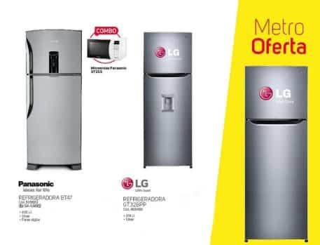 venta de refrigeradoras en tiendas metro