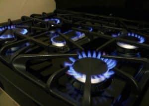 potencia de hornillas y quemadores