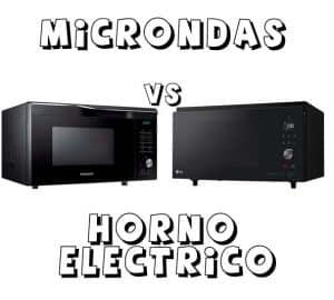hornos eléctricos vs microondas