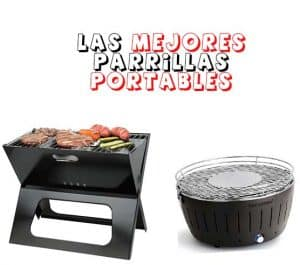 parrillas portables plegables chicas para mover