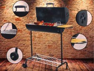 parrilla cilíndrica grillcorp
