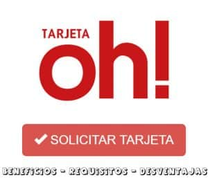 TARJETA OH SOLICITAR