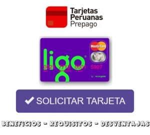 solicitar tarjeta ligo mastercard
