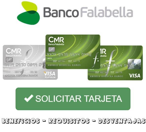 solicitar tarjeta cmr banco falabella