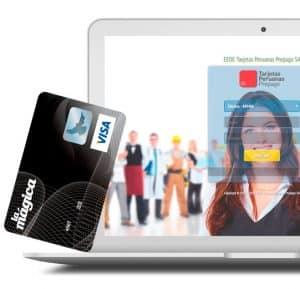 compras online con tarjeta prepago recargable la magica visa