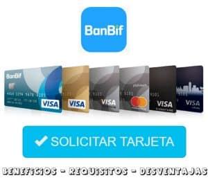 solicitar tarjeta banbif