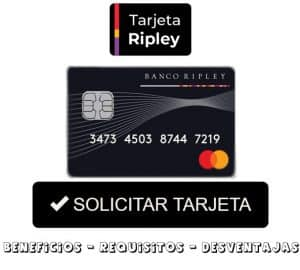 solicitar tarjeta ripley peru