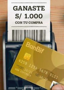 tarjetas de credito del Banco Interamericano de Finanzas BanBif
