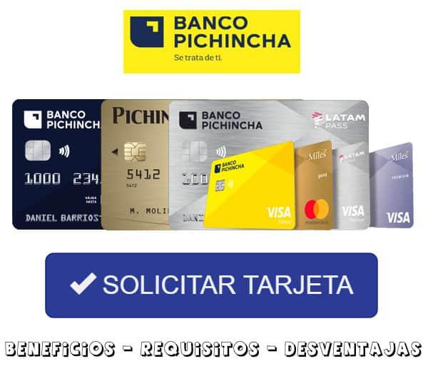 Solicitar Tarjeta Banco Pichincha