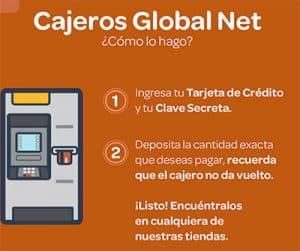 cajeros global net interbank