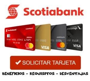 solicitar tarjeta Scotiabank