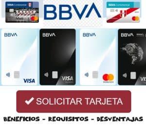 solicitar tarjeta banco bbva