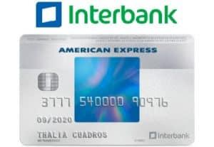 tarjeta interbank american express