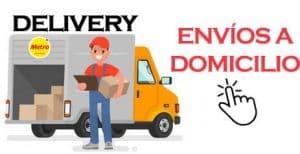 delivery metro envio a domicilio