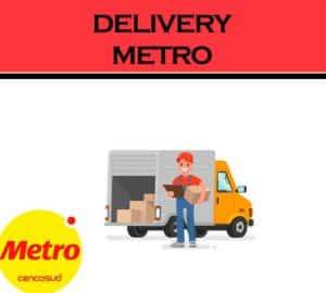 servicio de envío metro